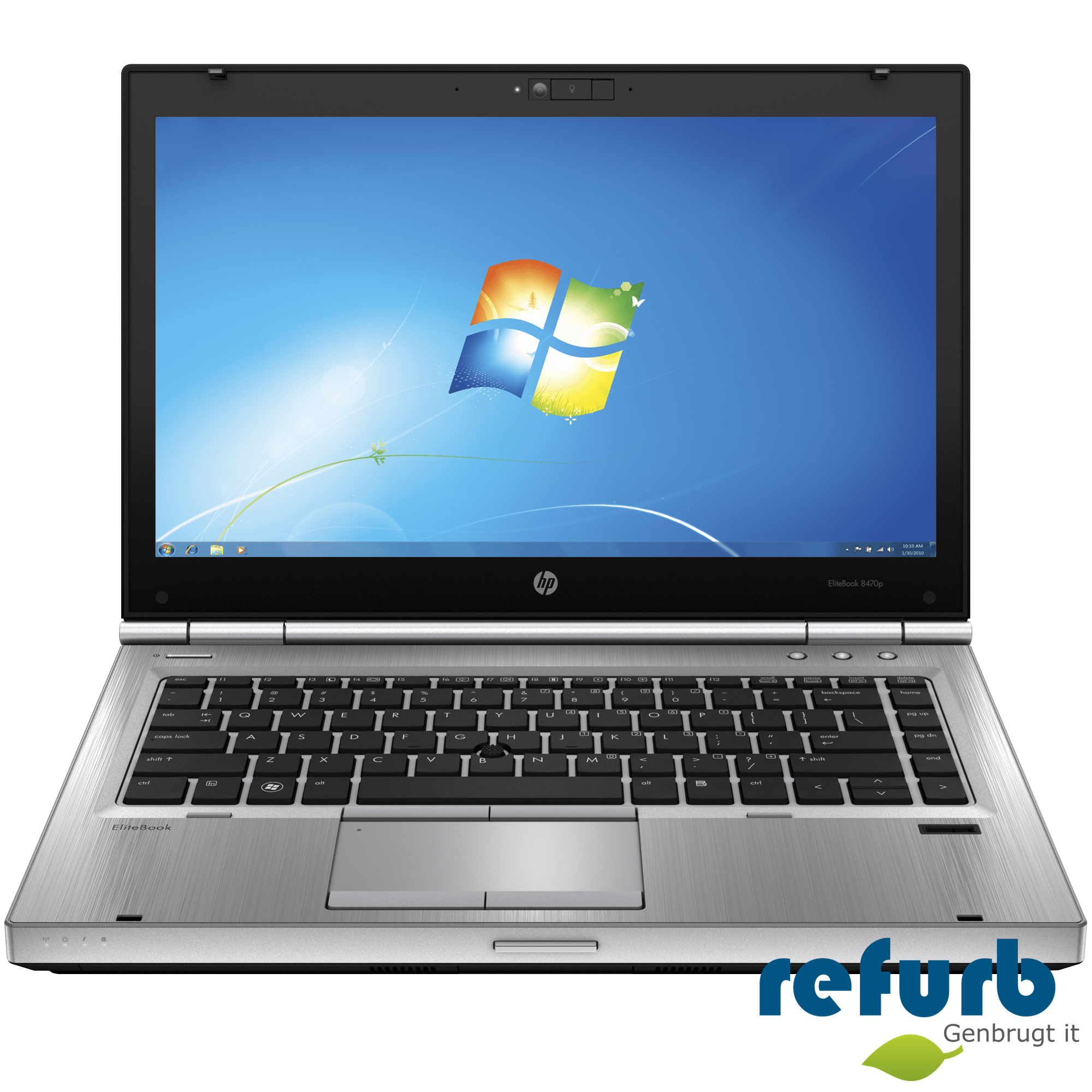 Hp elitebook 8470p fra Hp på refurb