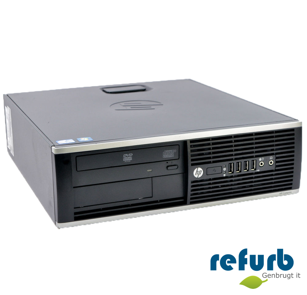 Hp compaq elite 8300 sff fra Hp på refurb