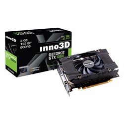 Inno3D GeForce GTX 1060 NVIDIA GeForce GTX 1060 3GB
