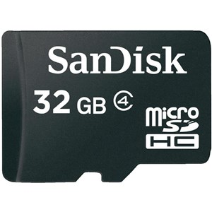Assorteret Micro SD-kort 32GB