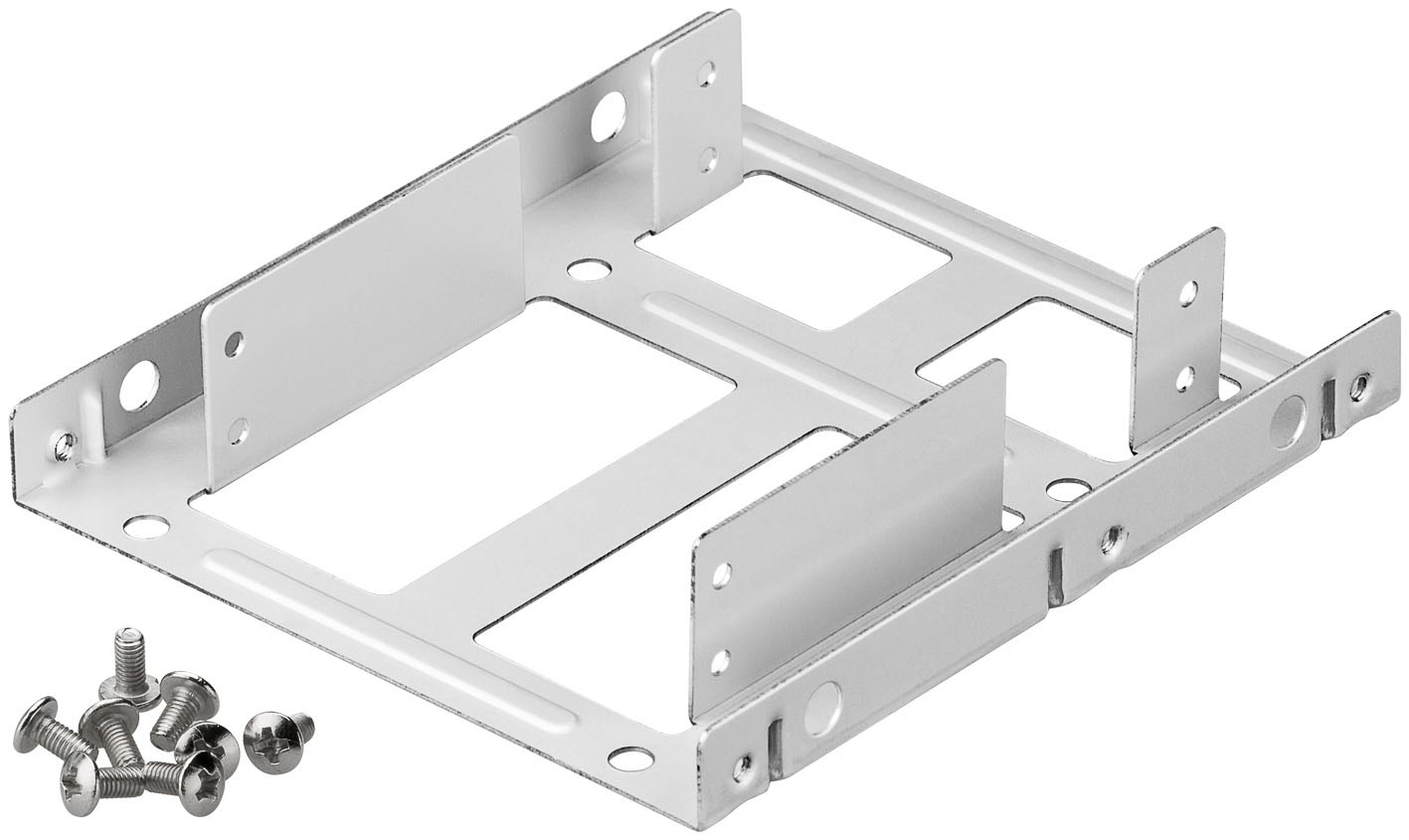 Image of   Goobay 2 Bay 2.5 - 3.5 Harddisk Bracket