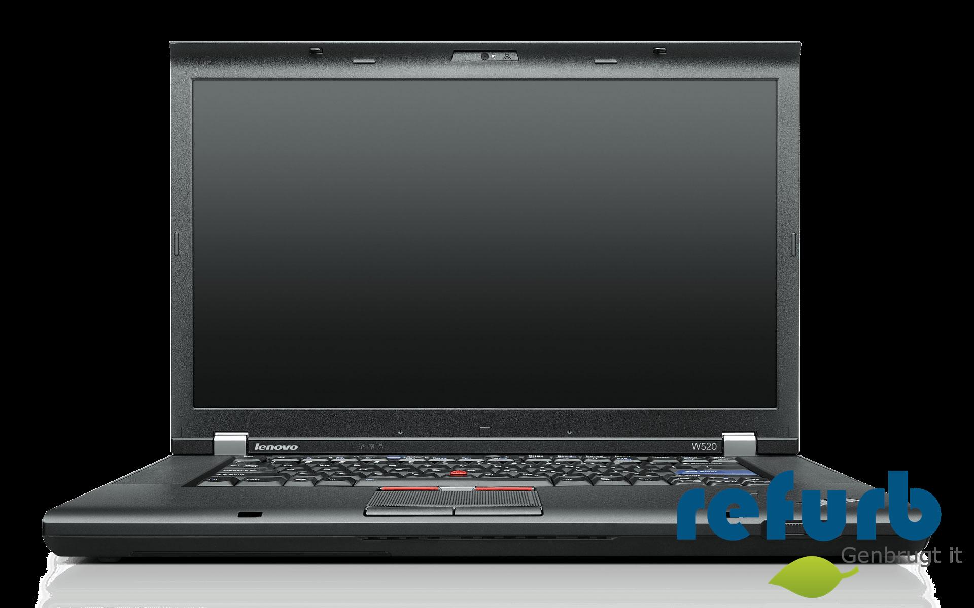 Lenovo thinkpad w520 fra Lenovo fra refurb