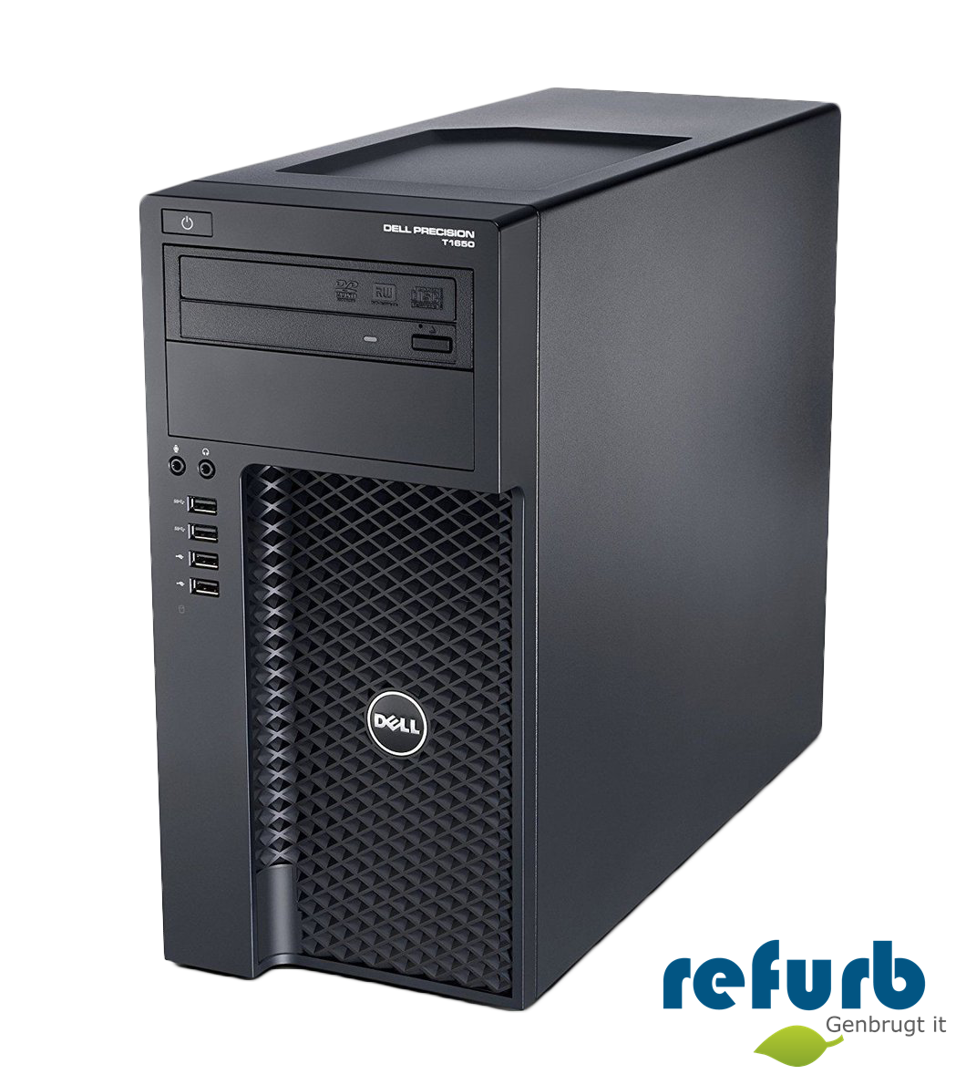 Dell precision t1650 mt fra Dell fra refurb