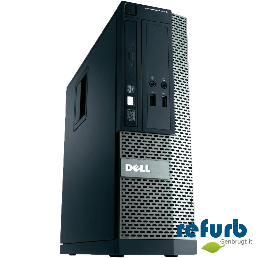 Dell Dell optiplex 390 sff fra refurb