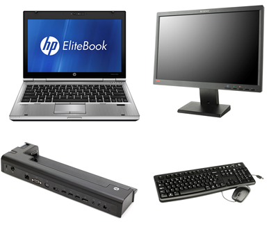 HP EliteBook 2560p Kontorpakke
