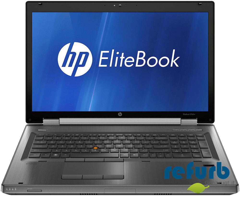 Hp elitebook 8760w fra Hp på refurb