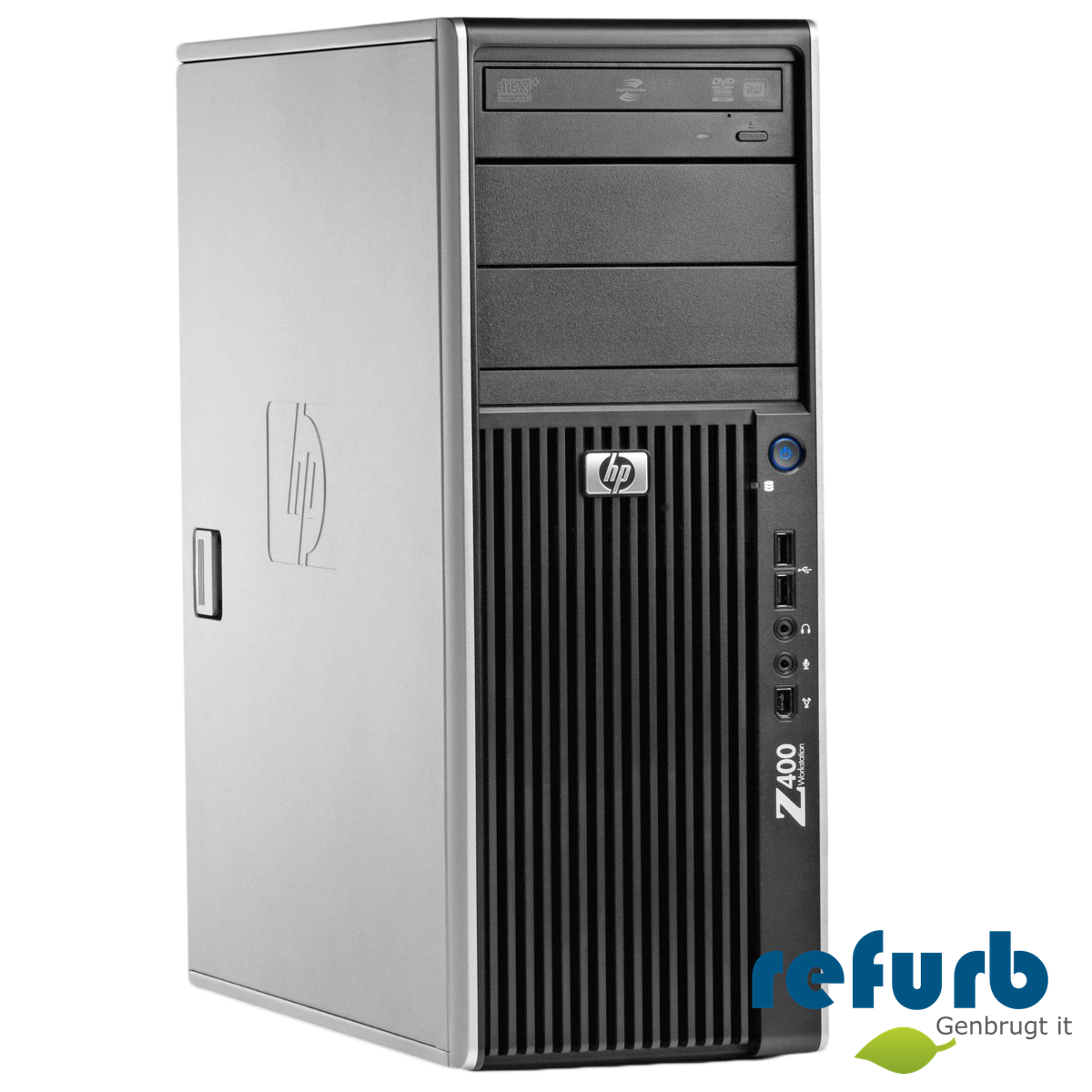 Hp z400 workstation fra Hp på refurb
