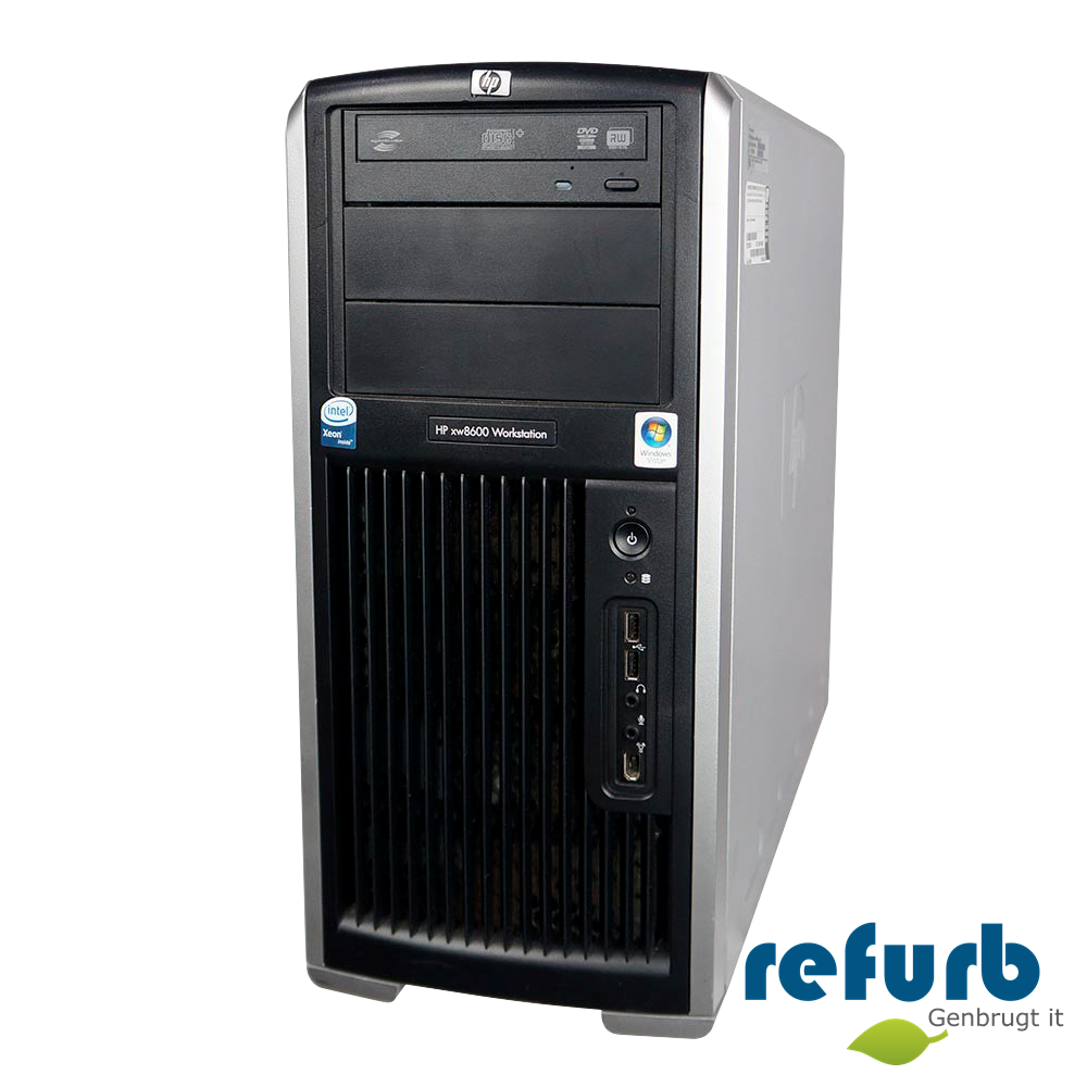 Hp – Hp xw8400 workstation på refurb
