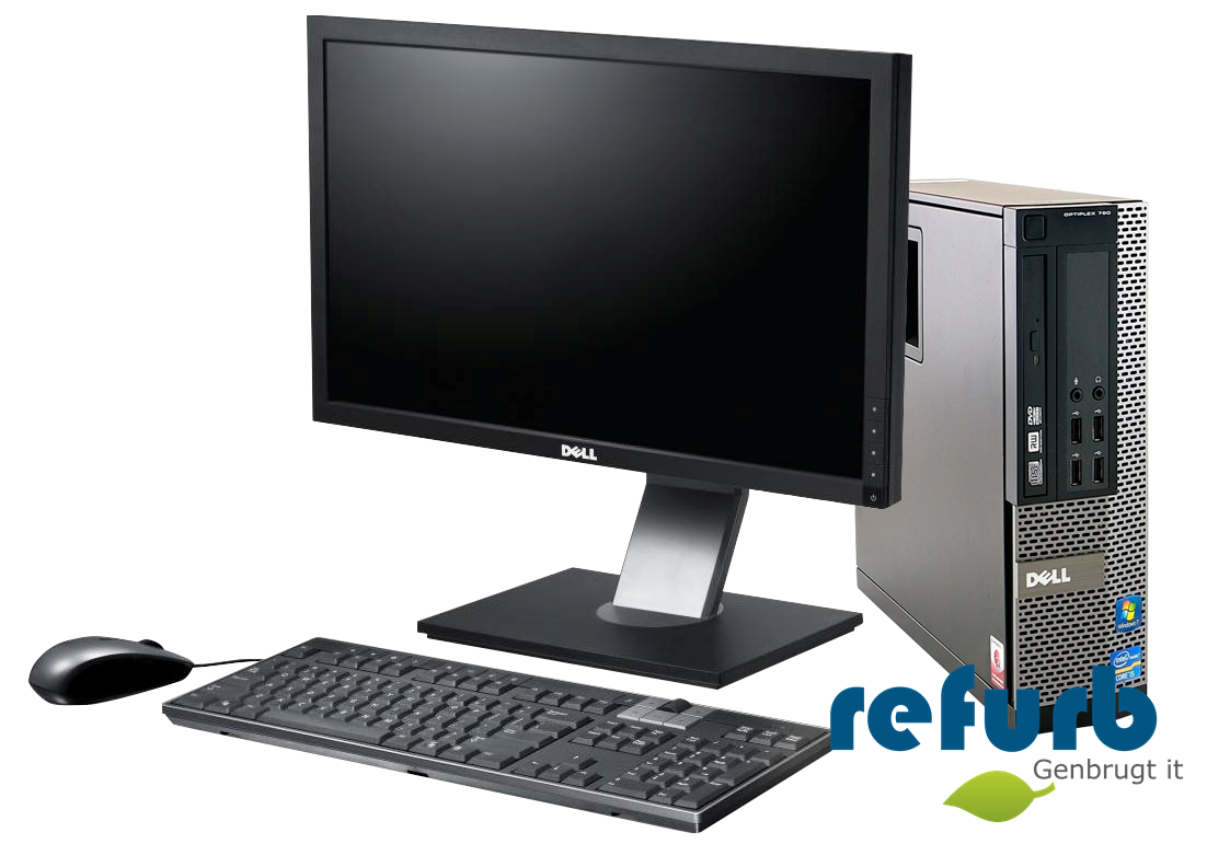 Dell – Dell optiplex 790 sff kontorpakke på refurb
