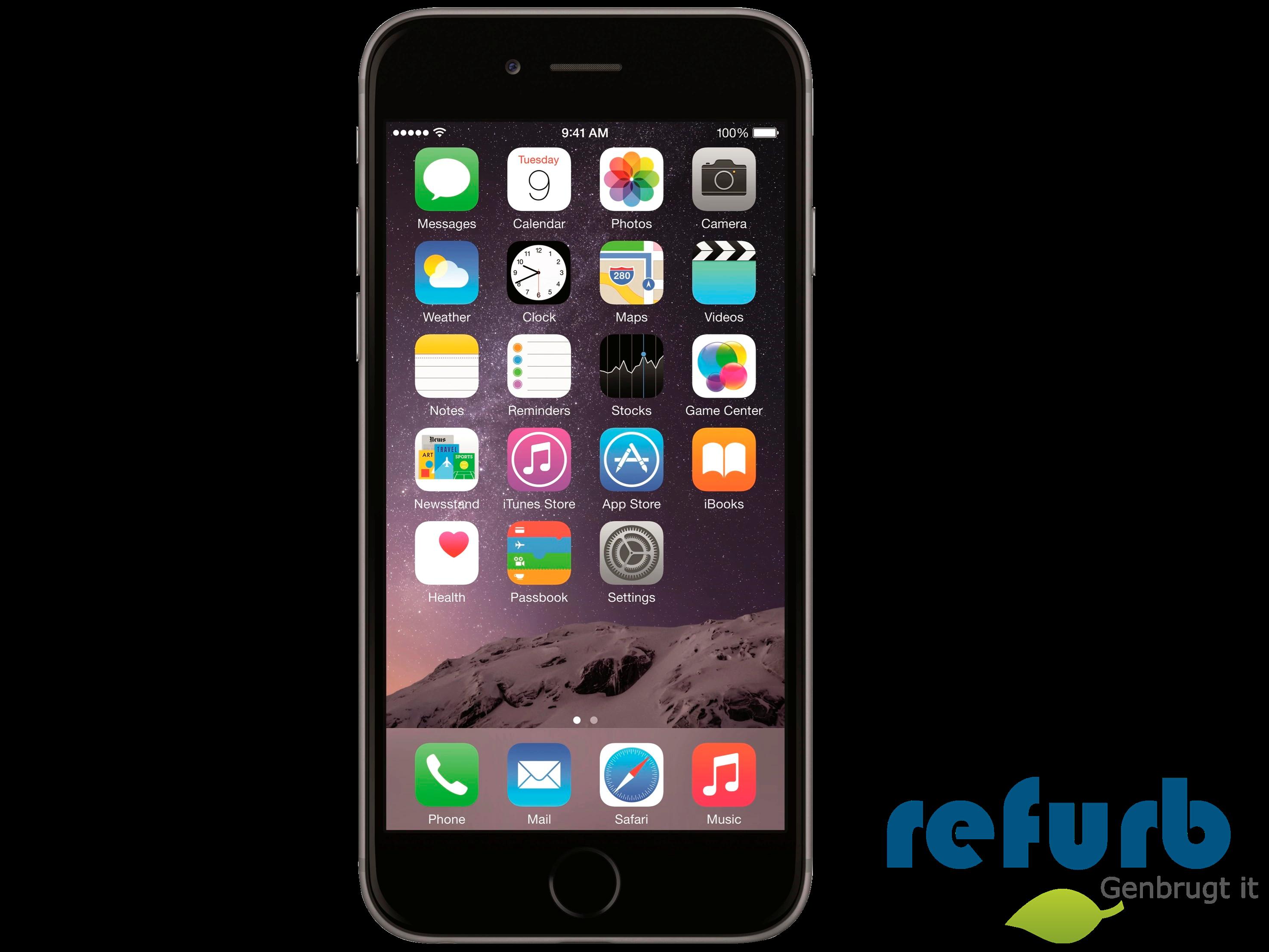 Apple iphone 6 fra Apple på refurb
