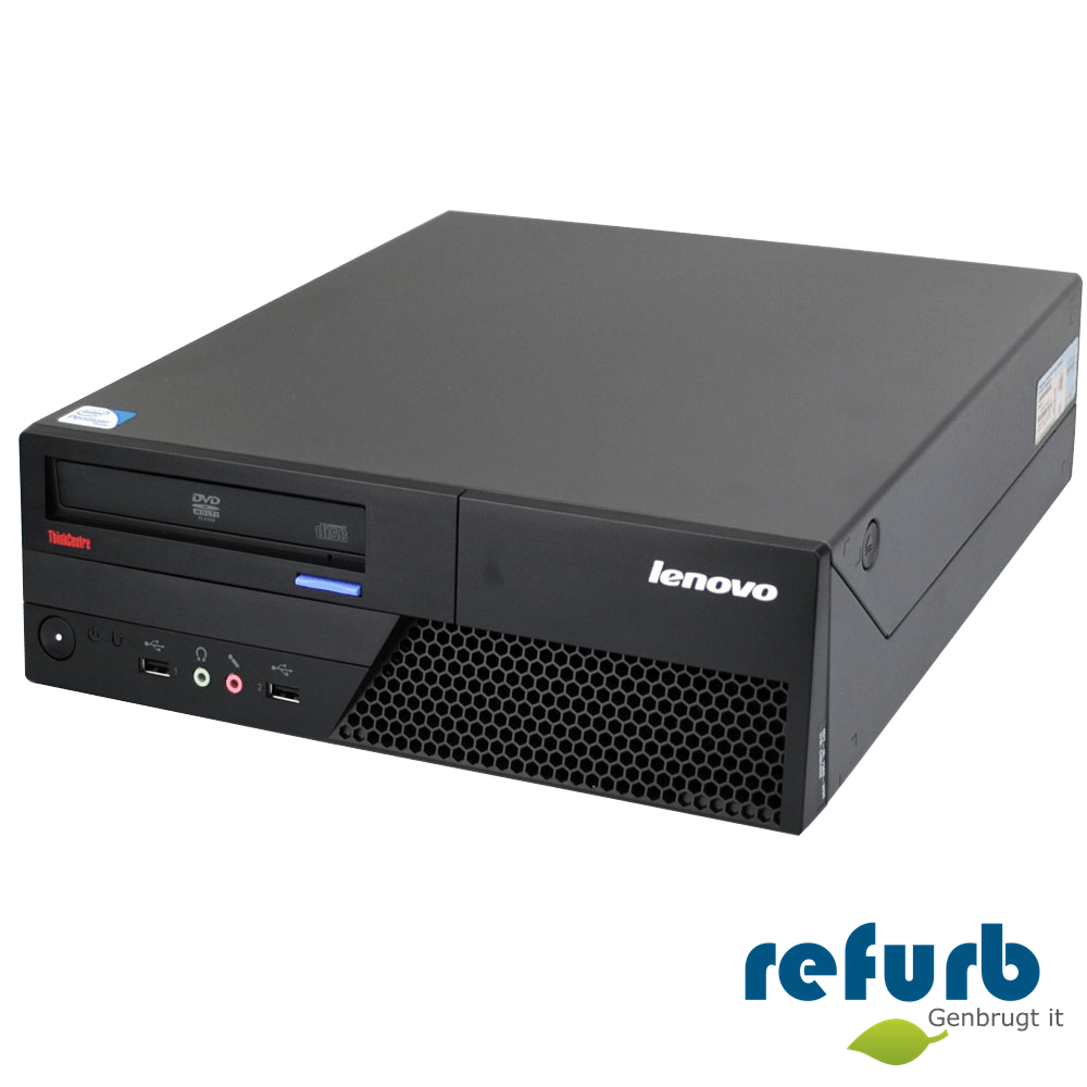 Lenovo Lenovo thinkcentre m58p sff på refurb