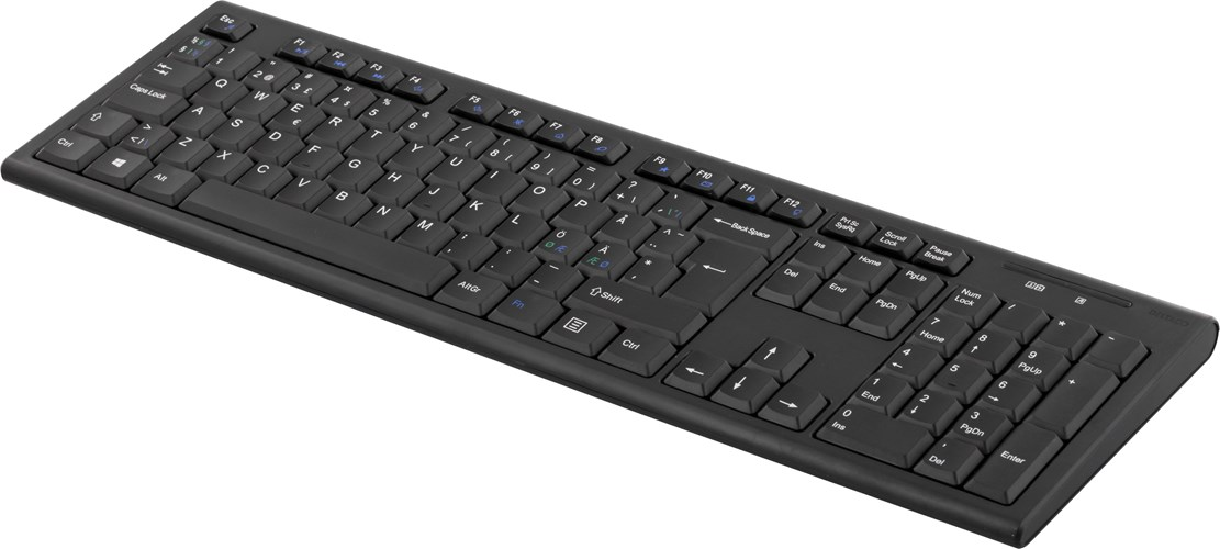 Deltaco Wireless Keyboard Nordisk TB-122