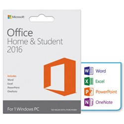 Microsoft Office Home and Student 2016 DK