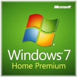 Microsoft OEM Windows 7 Home Premium 64-bit, SP1, Norsk