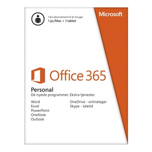 Microsoft Office 365 Home DK - 5 brugere