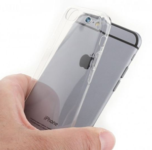 eSTUFF iPhone 6/6s Transparent TPU Cover