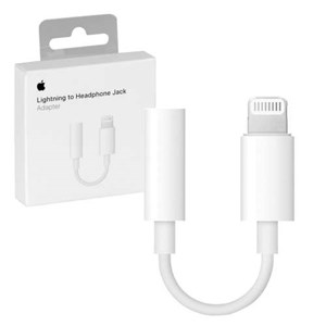 Apple MMX62ZM/A Lightning 3.5mm Hvit kabelgrensesnitt/kjønnsadapter