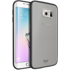 Samsung Galaxy S6 Edge cover Dark Transparent