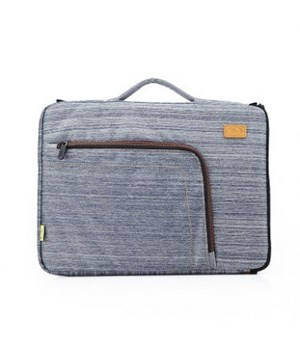 "Havit 15,6"" laptop Sleeve/skin blå med hank"