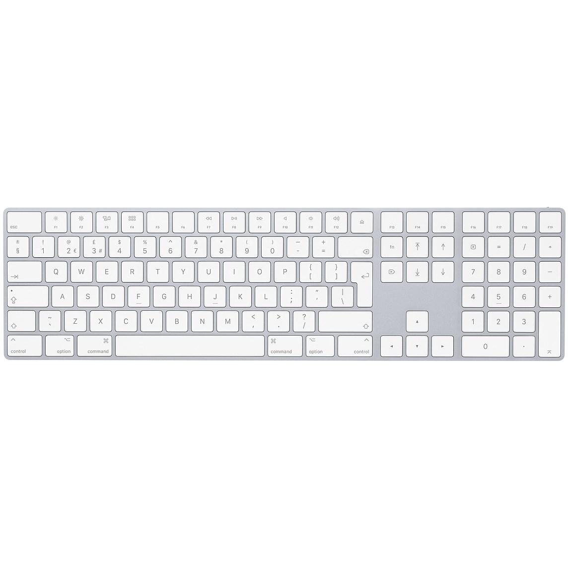 Image of   Apple Magic numerisk keyboard, dansk, space grey