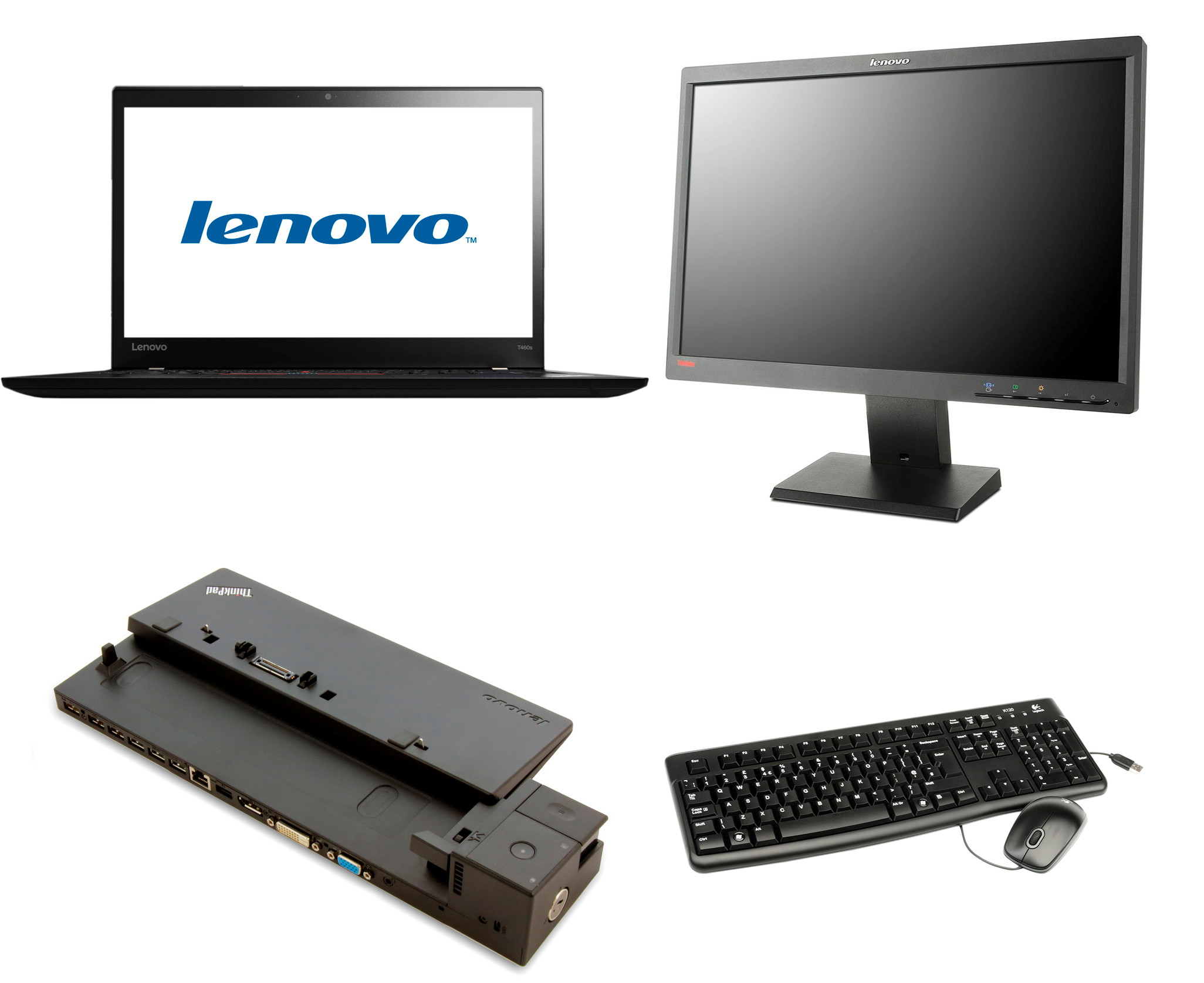 Image of   Lenovo ThinkPad T460s kontorpakke